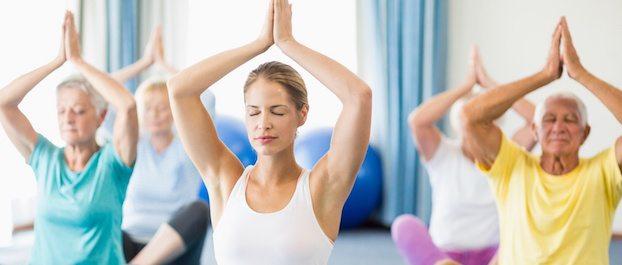 Yoga als Bildungsurlaub im Kloster